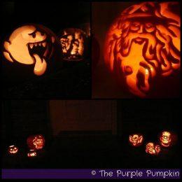 Pumpkin Carvings - The Purple Pumpkin Blog