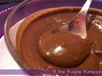 Nigella's Chestnut Chocolate Pots