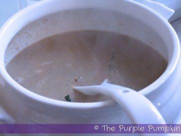 Chestnut & Sage Soup