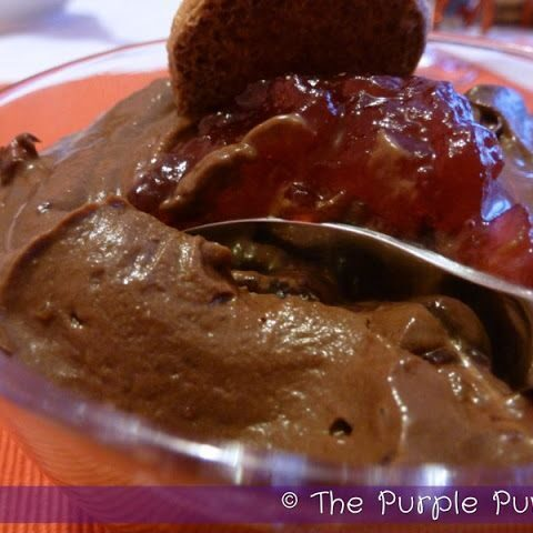 Cranberry & Chocolate Cheesecake Shots