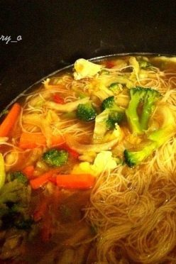 Chicken Vegetable Miso Soup