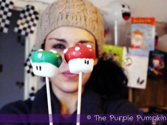 Nintendo Mario Super Mushrooms Marshmallow Pops