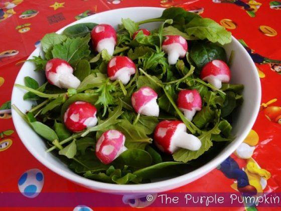 Nintendo Piranha Plant Super Mushroom Salad