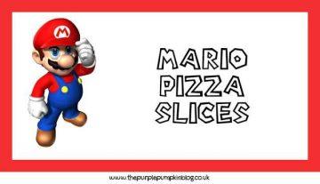Mario Food Labels