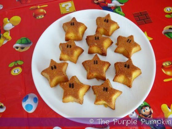 Mini Super Mario Starman Cakes
