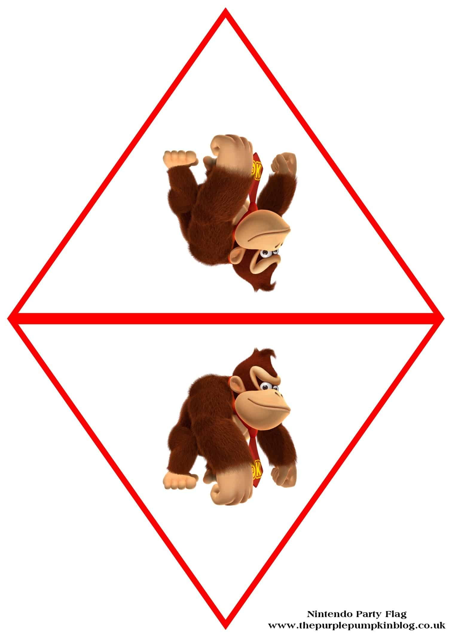 nintendo-party-flag-donkey-kong