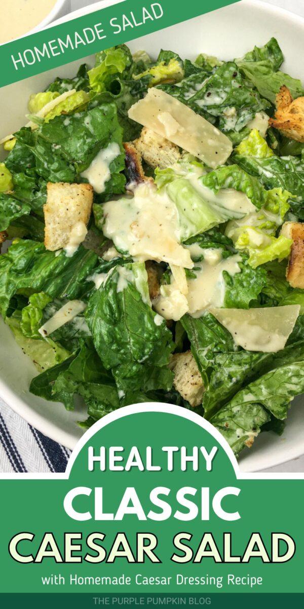 Healthy Classic Caesar Salad