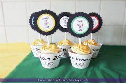 London 2012 Olympics Cupcakes