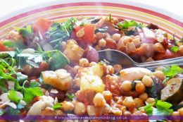 Moroccan Vegetable Chickpea Tagine