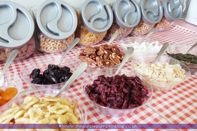 Brunch Cereal Station