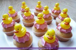 Dinky Ducky Cupcakes