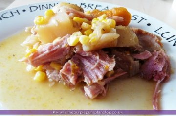 Slow Cooker Autumn Ham Casserole