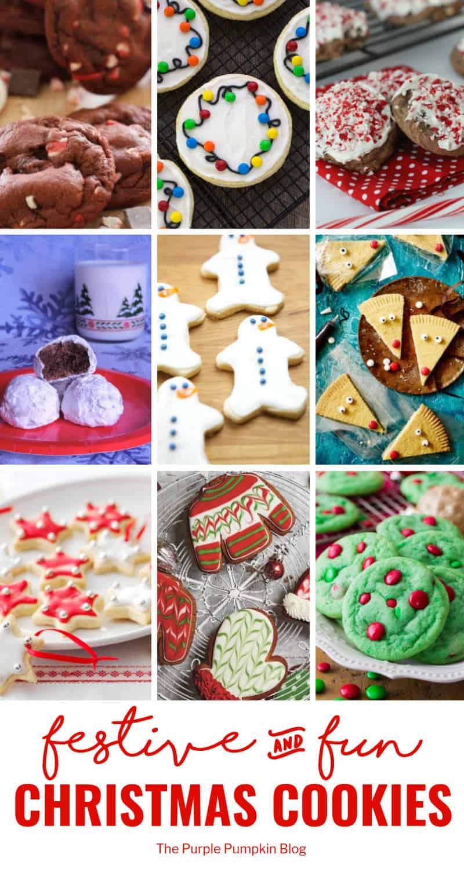 Festive & fun Christmas cookies