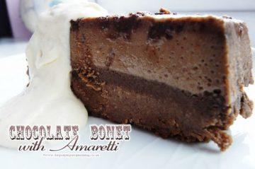 Chocolate Bonet with Amarettit