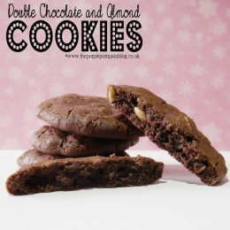 Double Chocolate and Almond Cookies