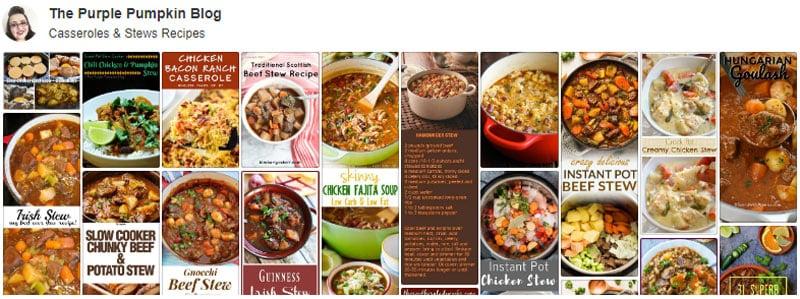 Casseroles & Stews Board on Pinterest