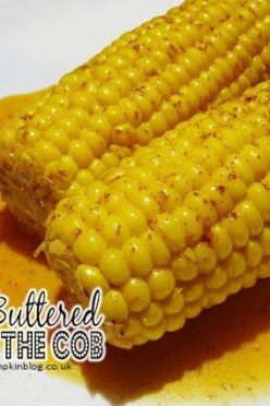 Cayenne Buttered Corn on the Cob
