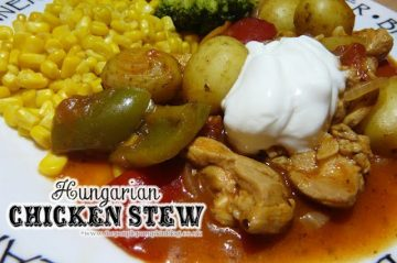 Hungarian Chicken Stew