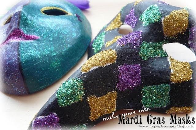 Make Your Own Mardi Gras Masks