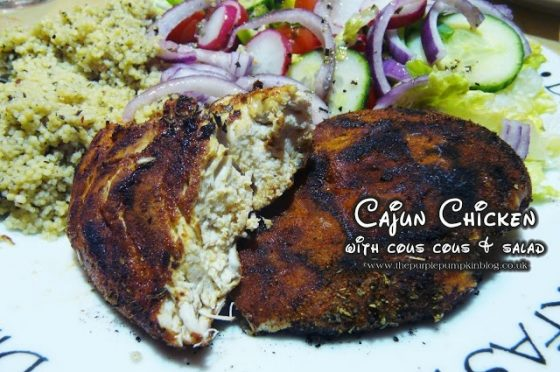 Cajun Chicken with Couscous Salad