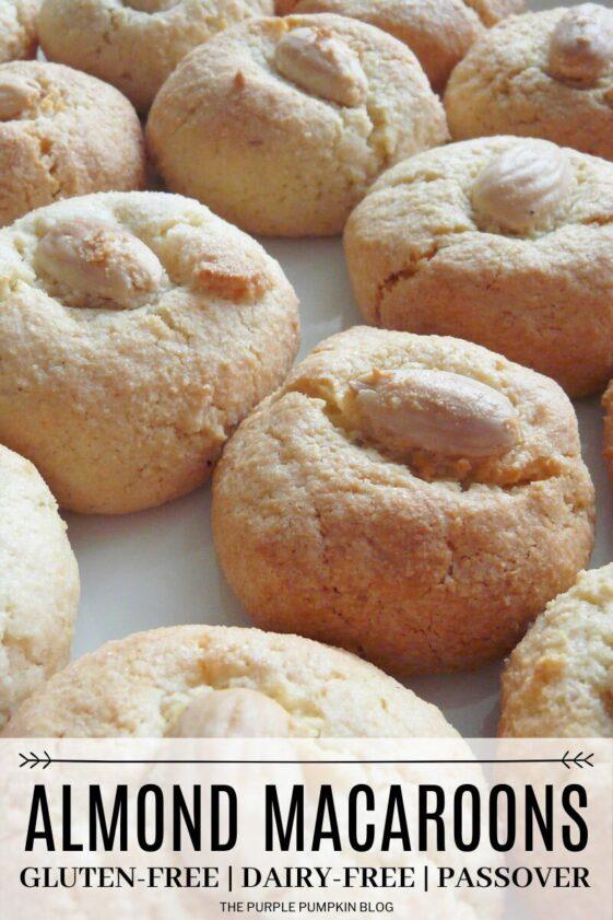 Almond Macaroons - Gluten-Free Dairy-Free Passover