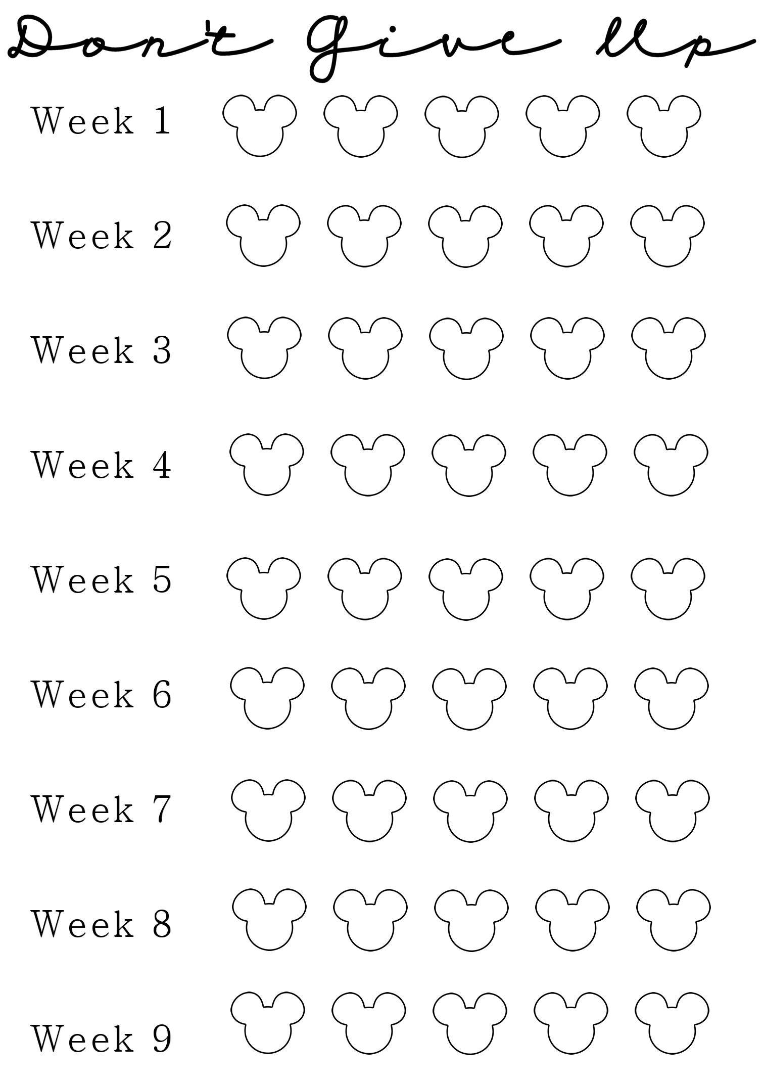 week 2 of my nine week weight loss challenge