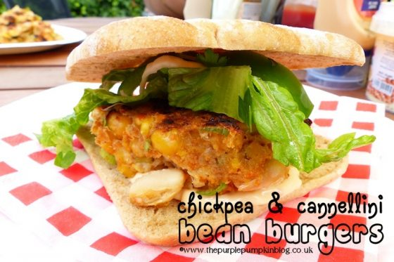 Chickpea and Cannellini Burgers - Don't leave the vegetarians out at a BBQ!