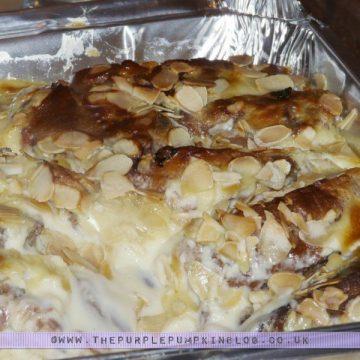 Panatone Amaretto Pudding