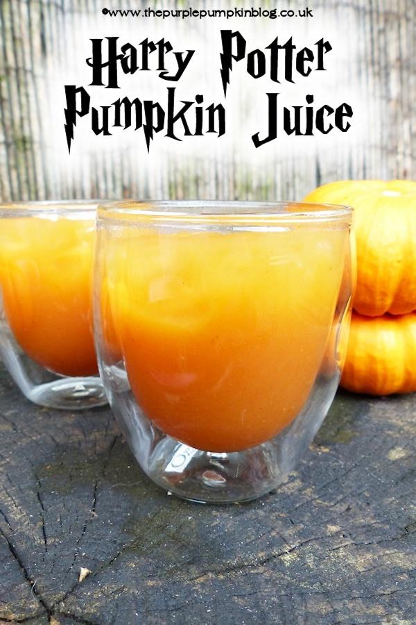 Pumpkin Juice - Harry Potter Copycat Recipe