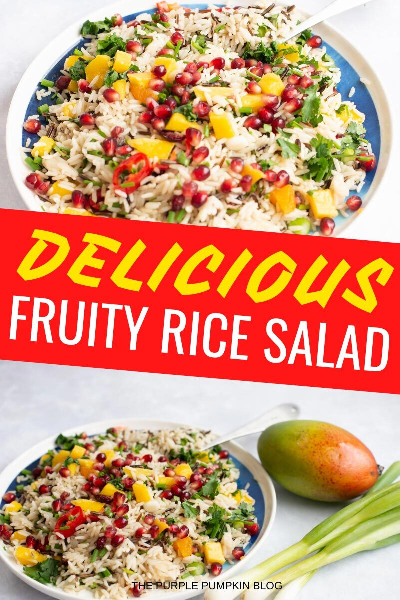Delicious Fruity Rice Salad