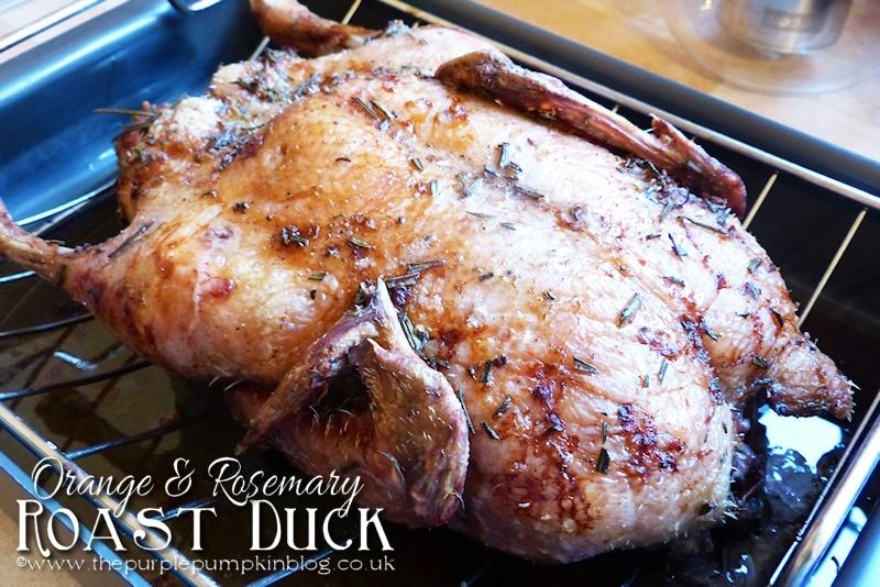 Orange and Rosemary Roast Duck