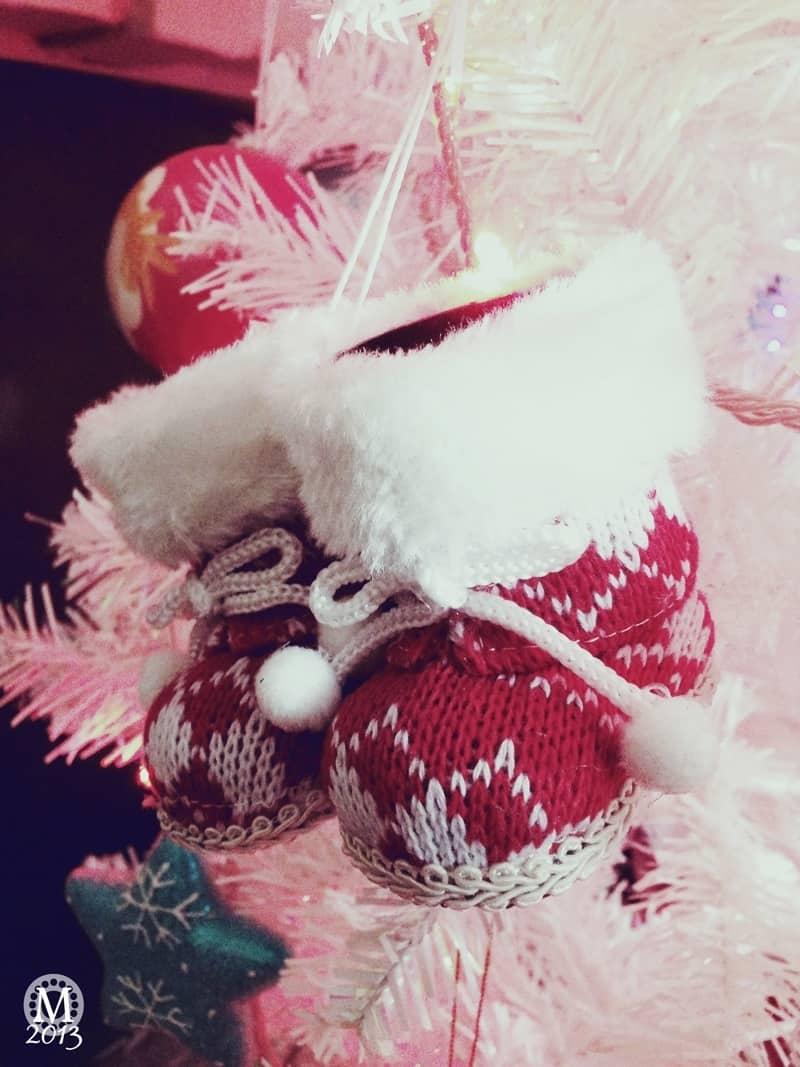 Snow Boots Christmas Decoration