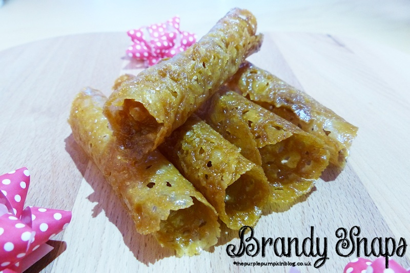 Brandy Snaps » The Purple Pumpkin Blog