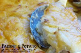 Parsnip & Potato Gratin Recipe