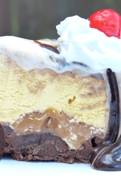 chocolate-peanut-ice-cream-cake