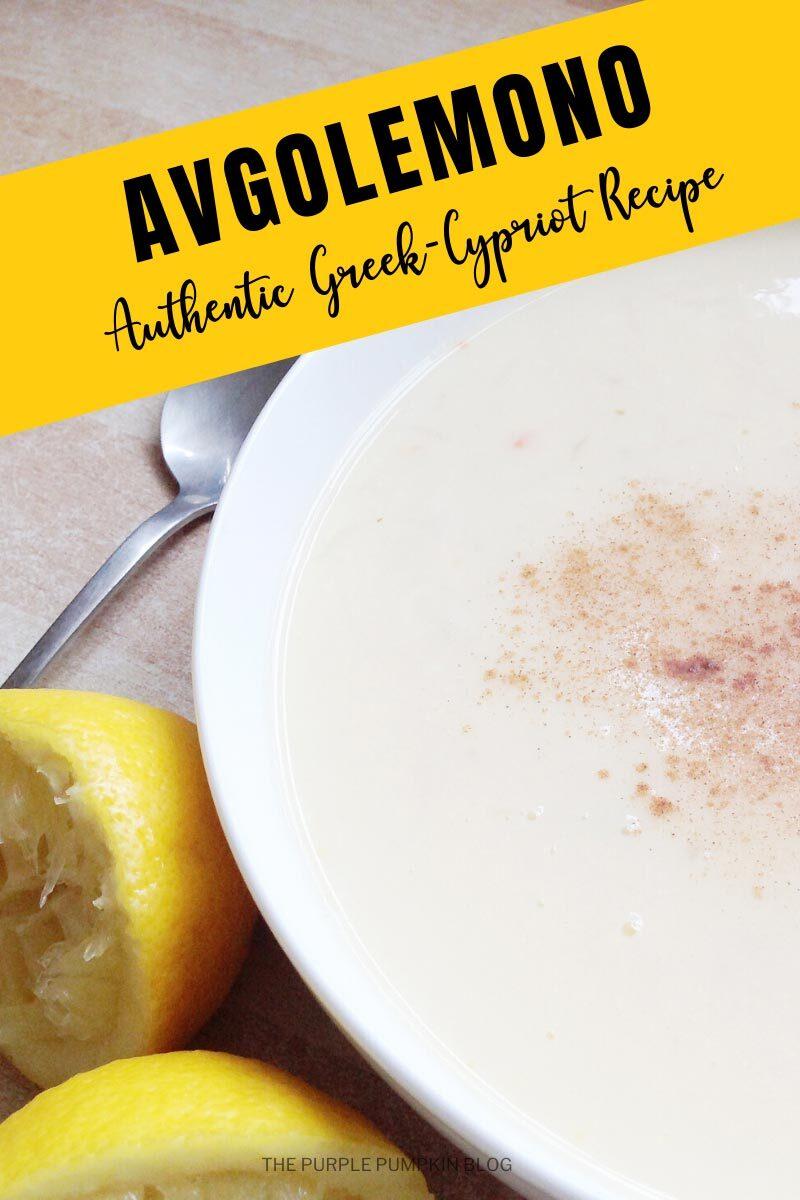 Avgolemono Authentic Greek Cypriot Recipe