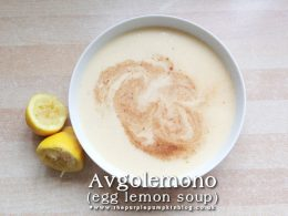 Avgolemono Egg Lemon Soup
