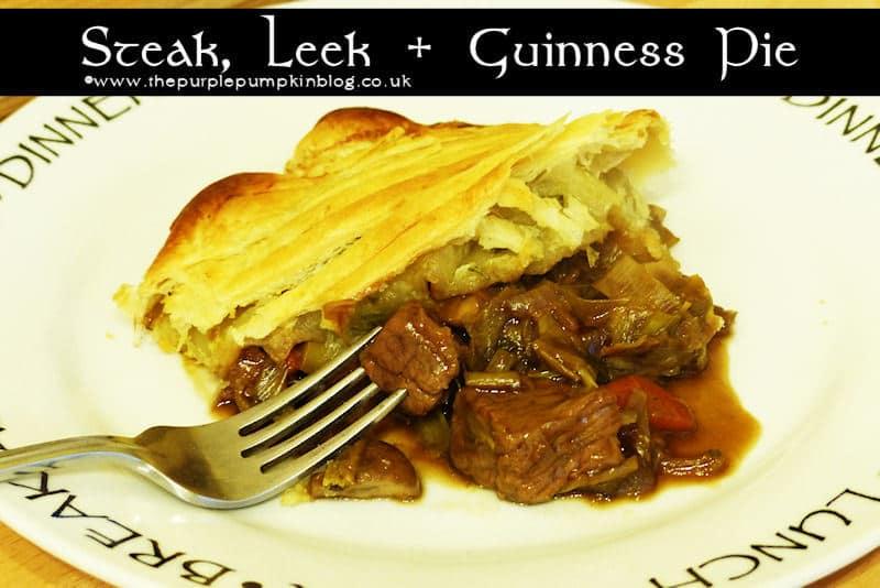 Steak And Guinness Pie Recipe — Dishmaps