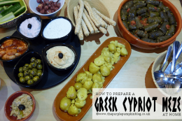 How To Prepare a Greek Cypriot Meze At Home