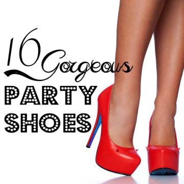 16 Gorgeous Party Shoes