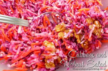 Cabbage and Walnut Salad