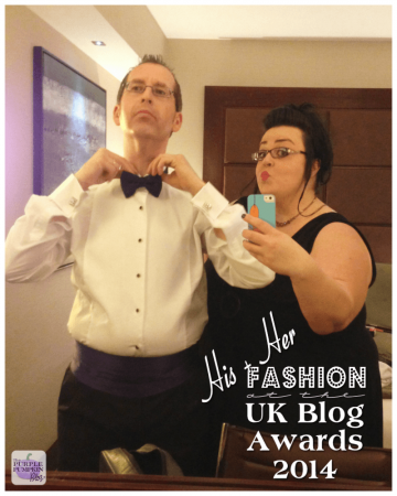 His 'n' Her Fashion at the UK Blog Awards 2014