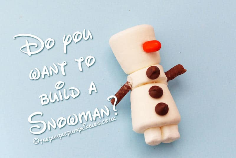 Do You Want To Build A Snowman Frozen Olaf Party Favor
