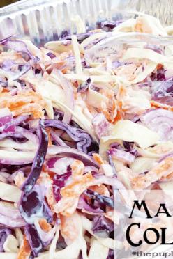 mayo-less-coleslaw