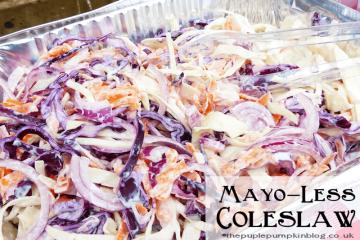 Mayo-Less Coleslaw