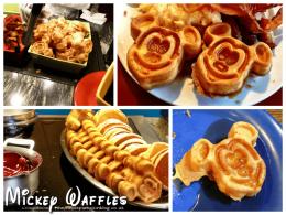 mickey-waffles