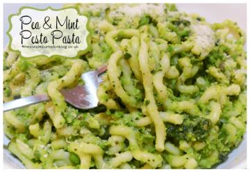 Pea & Mint Pesto Pasta