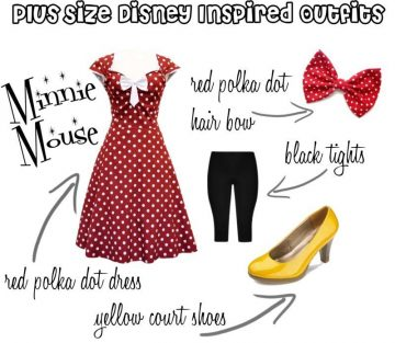 Plus Size Disney Bounding – Minnie Mouse #100DaysOfDisney