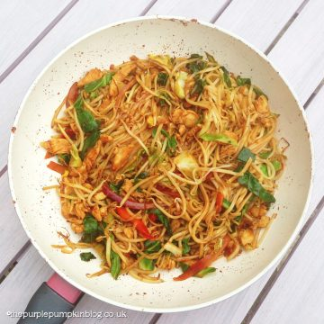 Faux Po Chicken Stir Fry