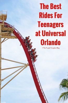 The Best Rides For Teenagers at Universal Orlando